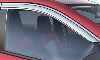 ข้อดี-ข้อเสีย คิ้วกันสาดกระจกรถยนต์