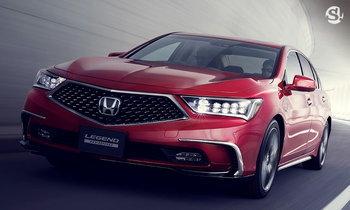 Honda Legend 2018 ปรับไมเนอร์เชนจ์ครั้งใหญ่เปิดตัวแล้วที่ญี่ปุ่น