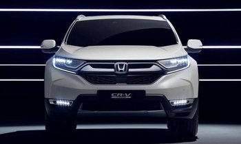 Honda CR-V Hybrid 2018 เวอร์ชั่นยุโรปเตรียมเปิดตัวที่เจนีวา