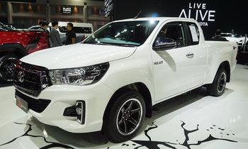 Toyota Hilux Revo Z Edition 2019 ใหม่ เผยโฉมจริงที่งานมอเตอร์โชว์