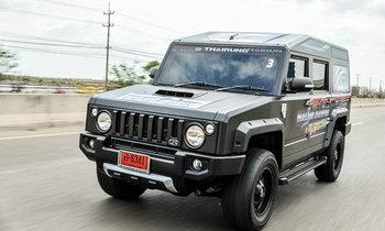 รีวิว Thairung Transformer Max 3.0 4WD ใหม่ เอสยูวีสัญชาติไทยดีไซน์แนว