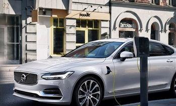 Volvo S90 T8 ใหม่ พร้อม 'เครื่องยนต์คู่' เตรียมเปิดตัวต้นปี 2016