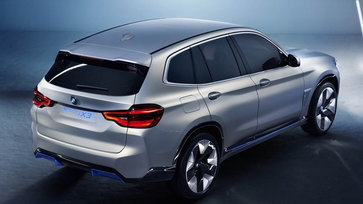 BMW iX3 ใหม่ รถเอสยูวีไฟฟ้าจะถูกผลิตในจีนเพื่อส่งออกตลาดโลก