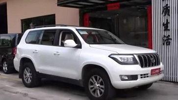หรูหราเท่าคันจริง! Toyota Land Cruiser เวอร์ชั่นปลอมสุดแนบเนียนในประเทศจีน (คลิป)