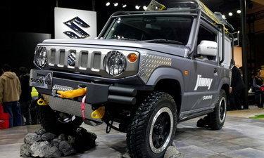 Suzuki Jimny Survive 2019 ใหม่ แต่งพิเศษเน้นลุยโดยเฉพาะเผยโฉมที่ญี่ปุ่น