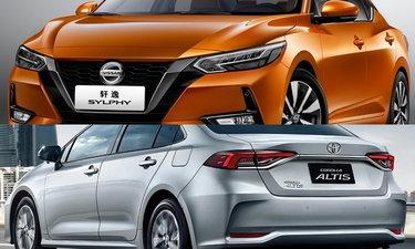 เทียบช็อต Nissan Sylphy 2019 และ Toyota Altis 2019 ใหม่ คันไหนเด็ดกว่า?