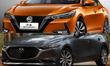 เทียบช็อต Nissan Sylphy 2020 และ Mazda3 2020 ใหม่ คันไหนสวยกว่ากัน?
