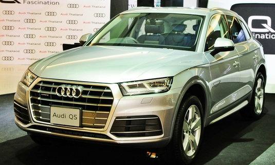 Audi Q5 2017 ใหม่ วางจำหน่ายอย่างเป็นทางการแล้วในไทย ราคา 3,399,000 บาท