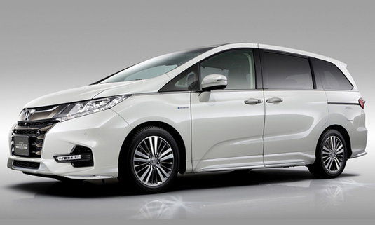 Honda Odyssey 2018 ไมเนอร์เชนจ์ใหม่เตรียมเปิดตัวที่ญี่ปุ่น