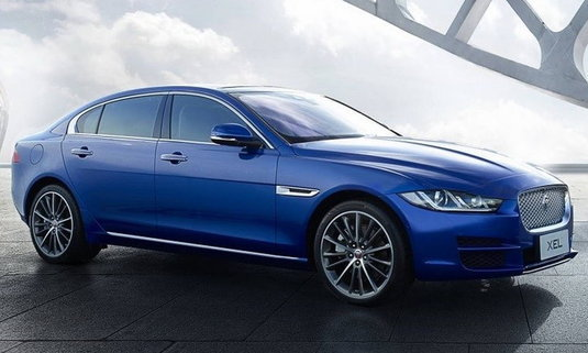 เผยโฉม Jaguar XEL 2018 เวอร์ชั่นฐานล้อยาวเอาใจตลาดจีน