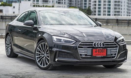 Audi A5 Coupe 2017 ใหม่ นำเข้าทั้งคัน ราคา 3,299,000 บาท