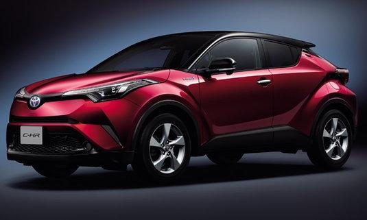 Toyota C-HR LED Edition 2018 ใหม่ เริ่มวางจำหน่ายที่ญี่ปุ่น ราคา 740,000 บาท