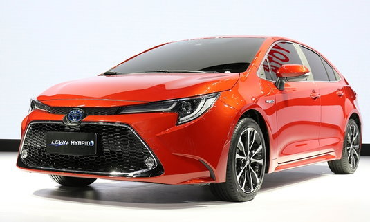 Toyota Corolla Sedan 2019 ใหม่ เผยโฉมอย่างเป็นทางการแล้ว