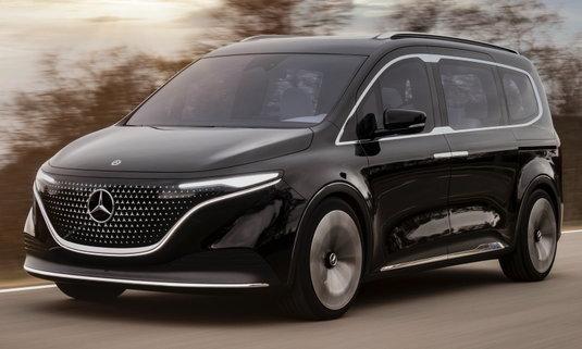 Mercedes-Benz Concept EQT ใหม่ ต้นแบบรถแวนหรูขุมพลังไฟฟ้าดีไซน์เฉียบ