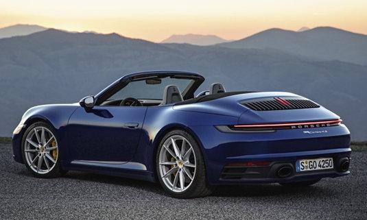 Porsche 911 Cabriolet 2019 ใหม่ เปิดประทุนตัวแรงเผยโฉมแล้ว