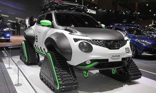 Nissan Juke 2019 เวอร์ชั่นตีนตะขาบเผยโฉมที่โตเกียวออโต้ซาลอน