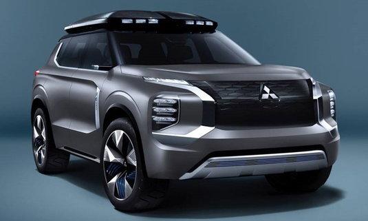Mitsubishi e-Yi Concept 2019 ใหม่ ต้นแบบเอสยูวีปลั๊กอินไฮบริดเตรียมเปิดตัวที่จีน