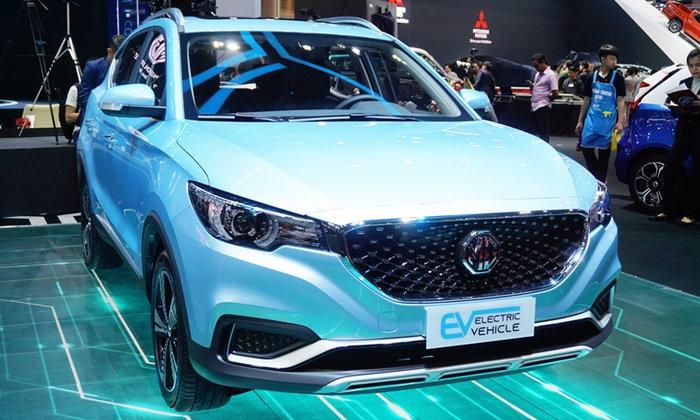 MG ZS EV 2019 เวอร์ชั่นไฟฟ้าเตรียมเปิดตัวจริงในไทย มิ.ย.นี้