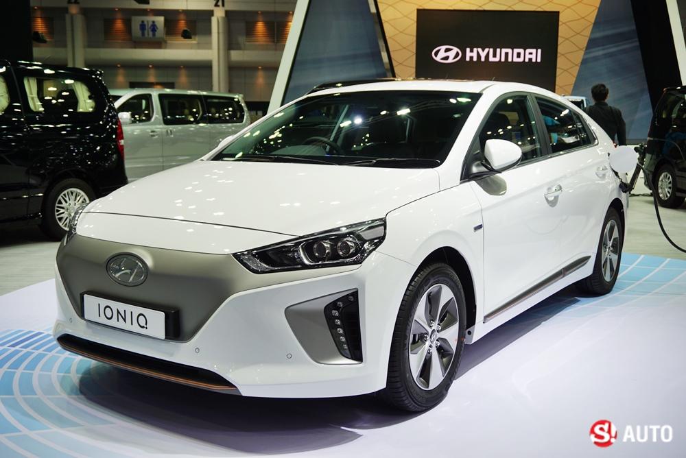 Hyundai Ioniq EV 2018 ใหม่ รถคอมแพ็คพลังงานไฟฟ้าที่งานมอเตอร์เอ็กซ์โป
