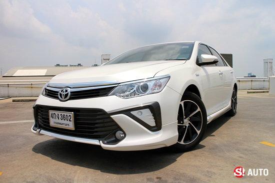 รีวิว Toyota Camry 2 0 G Extremo ไมเนอร์เชนจ์ใหม่ เปลี่ยนเกินความคาดหมาย