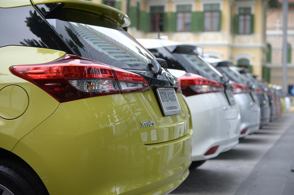 Toyota Yaris 2017 ไมเนอร์เชนจ์ใ