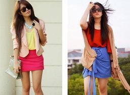 แฟชั่นเสื้อผ้าสีสดปรับลุคสาวๆ ให้สวยสดใส
