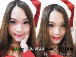 [Maquiyarse's How to] X'mas X New Year Make up Lookแต่งหน้าปาร์ตี้ปีใหม่ง่ายๆ