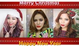 ♥♥How To♥♥ Merry Christmas X New Year Makeup Look...แต่งหน้ากับ 3 สาว 3 สไตล์รับเทศกาลแห่งความสุข