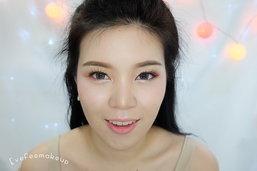 How to แต่งหน้าโทนสีชมพู อมส้มนิดๆ ให้สดใสสุดๆ