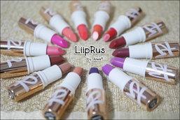 :: รีวิวลิปสติกแบรนด์ไทยยี่ห้อ LiipRus 14 สี ::