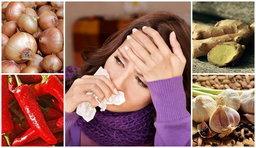 สมุนไพรรักษาโรคหวัด ตัวยาชั้นดีจากธรรมชาติ กำราบหวัดได้ผล !