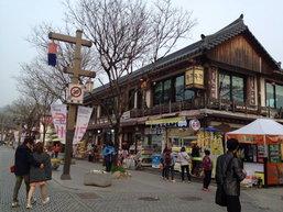 จอนจู (전주) เมืองเก่า ชุดฮันบก และ บีบิมบับ