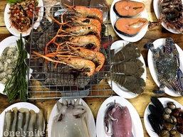 Seafood Buffet ไม่จำกัดเวลา แบบเต็มโต๊ะ!!