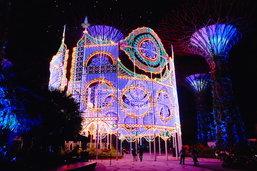 5 จุดเริงร่าชมไฟคริสต์มาสตรึงตาแห่งดินแดนเมอร์ไลอ้อน – สิงคโปร์