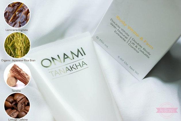 ♥♥Mini Review♥♥ ONAMI TANAKHA Body White&Firm โลชั่นทาผิวสารสกัดจากไม้ทานาคา