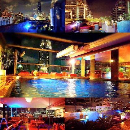 บุฟเฟ่ต์โรงแรมมื้อกลางวัน 289 บาท ต่อด้วย Rooftop Bar ชิลๆชมวิวกรุงเทพฯยามค่ำคืน