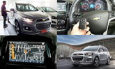 Chevrolet Captiva 2016 กับระบบ MyLink เชื่อมต่อ Apple CarPlay สะดวกสบายทุกการเดินทาง