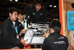 เด็กไทยเจ๋ง!ผ่านเข้ารอบรองแข่งหุ่นยนต์โลก