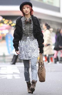 อัพเดตแฟชั่นหน้าหนาวปี 2010 จากญี่ปุ่น