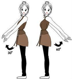 แกว่งแขน...กายบริหารแบบง่ายๆ ช่วยบำบัดโรค