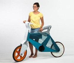 จักรยานจากพลาสติกรีไซเคิล