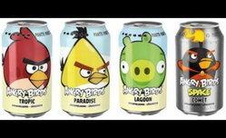 เกมส์สุดฮิต Angry Birds กำเนิดใหม่ในนามน้ำอัดลม