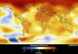 ปี 2012 ติดท็อป 10 ปีที่ร้อนที่สุดในรอบ 133 ปี