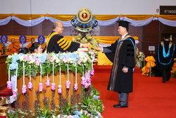 พิธีประสาทปริญญาบัตรมหาวิทยาลัยสยาม ประจำปีการศึกษา 2555