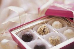 """""""เลือกช็อคโกแลตเป็นของขวัญวันวาเลนไทน์ """""""