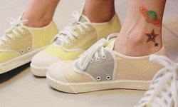 สวยมาก รองเท้านันยาง คอลเล็กชั่นพิเศษทำจากผ้าไหม