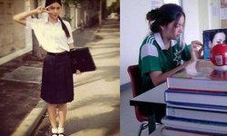 สวยตั้งแต่เด็ก ใหม่ ดาวิกา สมัยเป็นนักเรียน