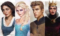 ถ้าตัวละครจาก การ์ตูน Disney เป็นคนจริงๆ คงมีหน้าตาแบบนี้แน่นอน