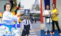 """ทำความรู้จัก """"อาซึกิ อิวาตานิ"""" นักคาราเต้-โด ญี่ปุ่นหัวใจไทยสุดน่ารัก"""