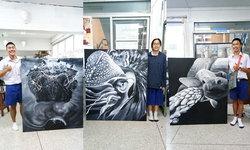 นี่คือผลงานนักเรียน ม.5 จริงๆ นะ เด็กสาธิตมหาวิทยาลัยศิลปากร ฝีมือศิลปะขั้นเทพ